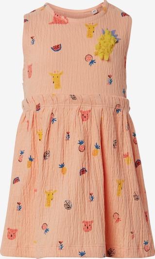 TOM TAILOR Kleid in mischfarben / apricot, Produktansicht