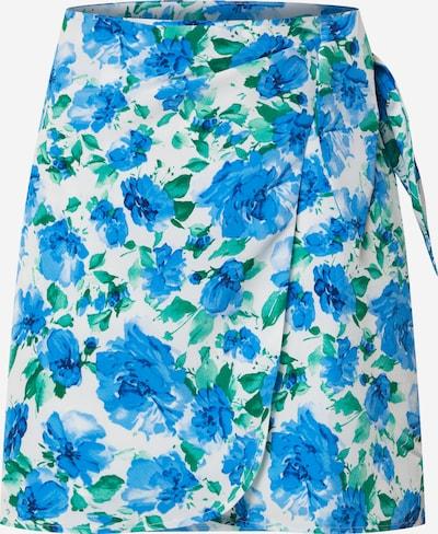 Fashion Union Rock 'DOVE' in blau / grün, Produktansicht