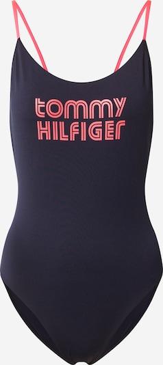 Tommy Hilfiger Underwear Badeanzug in navy / hellpink, Produktansicht