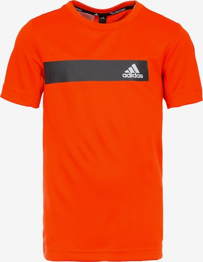 ADIDAS PERFORMANCE Trainingsshirt 'TR Cool' in koralle / schwarz / weiß, Produktansicht