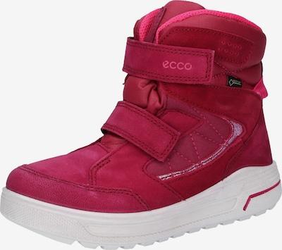 ECCO Stiefel in dunkelpink / weiß, Produktansicht