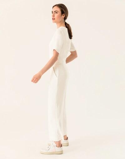 IVY & OAK Jumpsuit 'Culotte' in weiß, Modelansicht