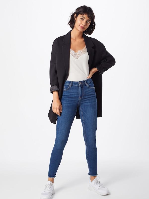 Mb Blauw Denim In Skn Cr B184 Noos' Jeans Mw Pieces 'pcdelly F3T1clKJ