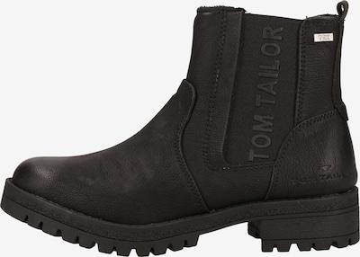 TOM TAILOR Chelsea-Boots in schwarz, Produktansicht