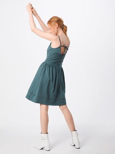 ONLY Kleid 'ONLADDY STRAP DRESS JRS' in grün: Rückansicht