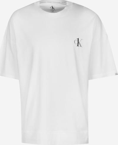 Trumpa pižama iš Calvin Klein Underwear , spalva - balta, Prekių apžvalga