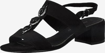 MARCO TOZZI Sandales en noir, Vue avec produit