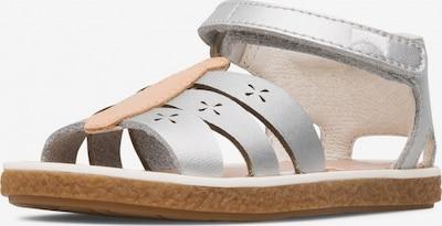 CAMPER Sandalen 'Miko' in nude / silber, Produktansicht