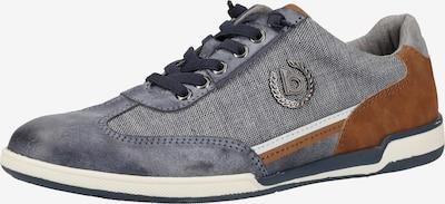 bugatti Sneaker in taubenblau / braun, Produktansicht