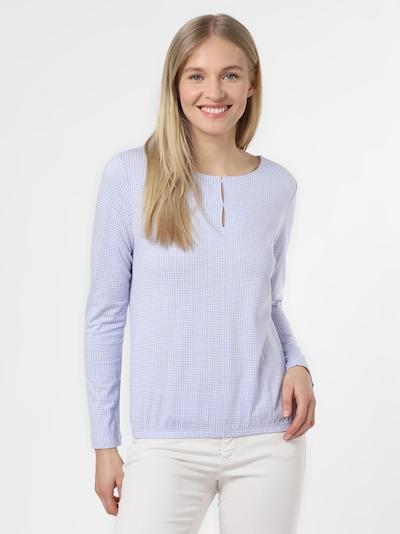 Franco Callegari Langarmshirt in pastelllila / weiß, Produktansicht