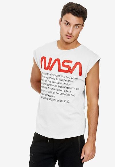 Redbridge Shirt 'Washington NASA' in de kleur Wit: Vooraanzicht