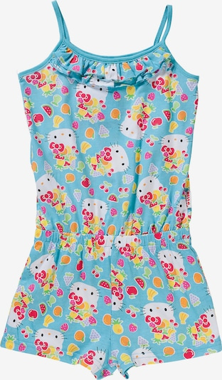 HELLO KITTY Jumpsuit in hellblau / mischfarben, Produktansicht