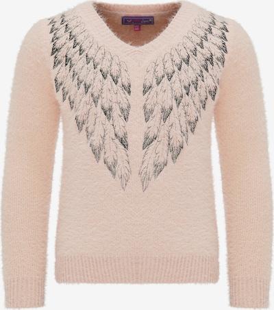 MYMO Pullover in rosa / schwarz, Produktansicht