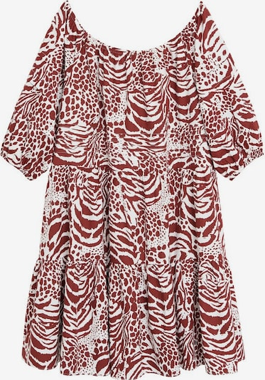 MANGO Kleid 'alba' in rubinrot, Produktansicht