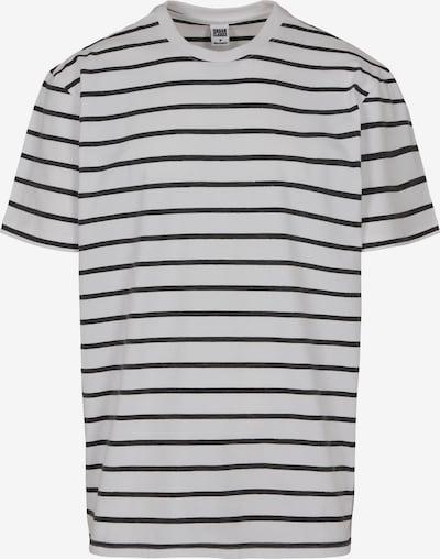 Urban Classics Majica | črna / bela barva, Prikaz izdelka