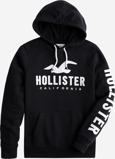 HOLLISTER Sweatshirt ' TECH LOGO' in schwarz, Produktansicht