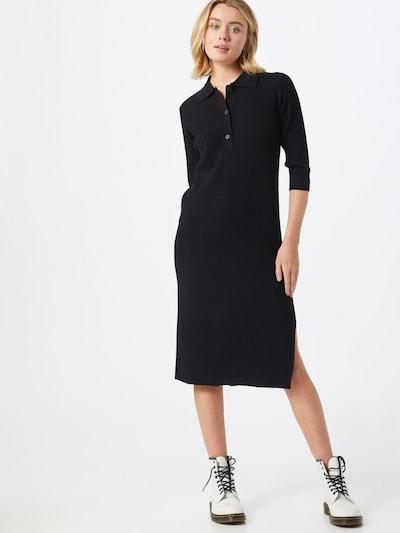 Someday Kleid 'Qoru' in schwarz, Modelansicht