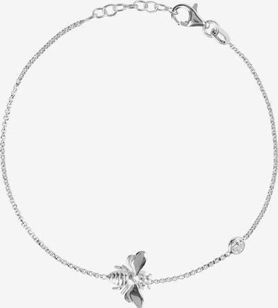 Latelita Armband in silber / weiß, Produktansicht