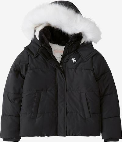 Abercrombie & Fitch Veste d'hiver 'ESSENTIAL PUFFER' en noir, Vue avec produit