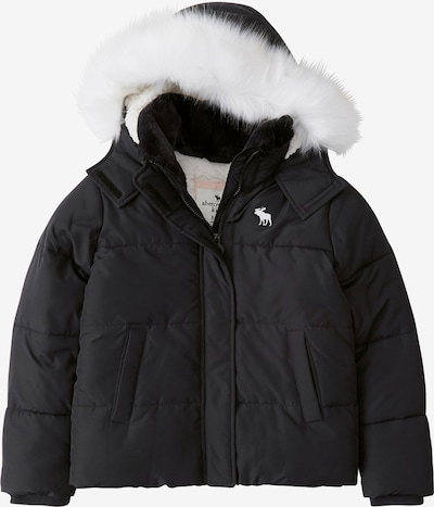 Abercrombie & Fitch Zimska jakna 'ESSENTIAL PUFFER' | črna barva, Prikaz izdelka