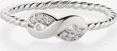 BRUNO BANANI Ring in silber / weiß, Produktansicht