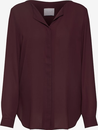 VILA Blouse in wine red, Item view