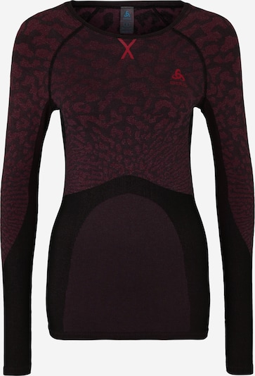 ODLO Base Layer en rose / noir, Vue avec produit