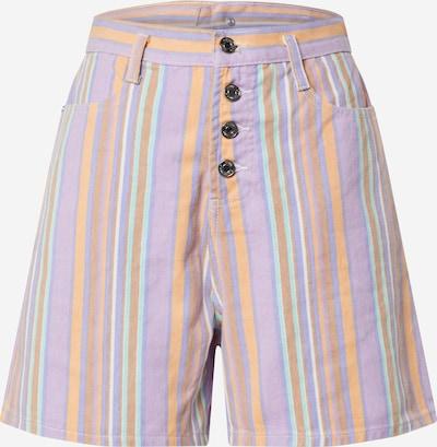Missguided Jeans in lila / mischfarben: Frontalansicht