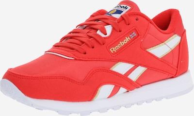 Sneaker low Reebok Classic pe roșu, Vizualizare produs