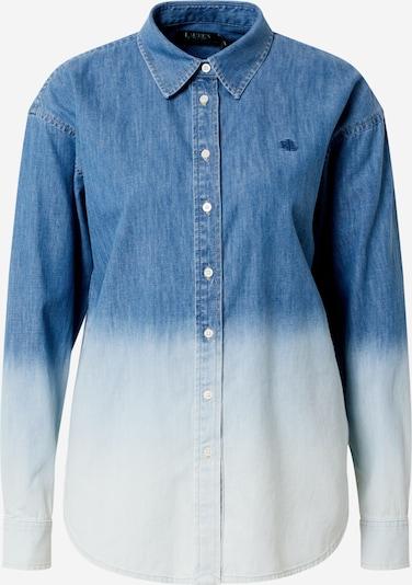 Lauren Ralph Lauren Chemisier en bleu / blanc, Vue avec produit