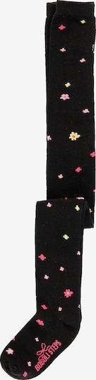 BÒBOLI Strickstrumpfhose in gelb / pink / schwarz, Produktansicht