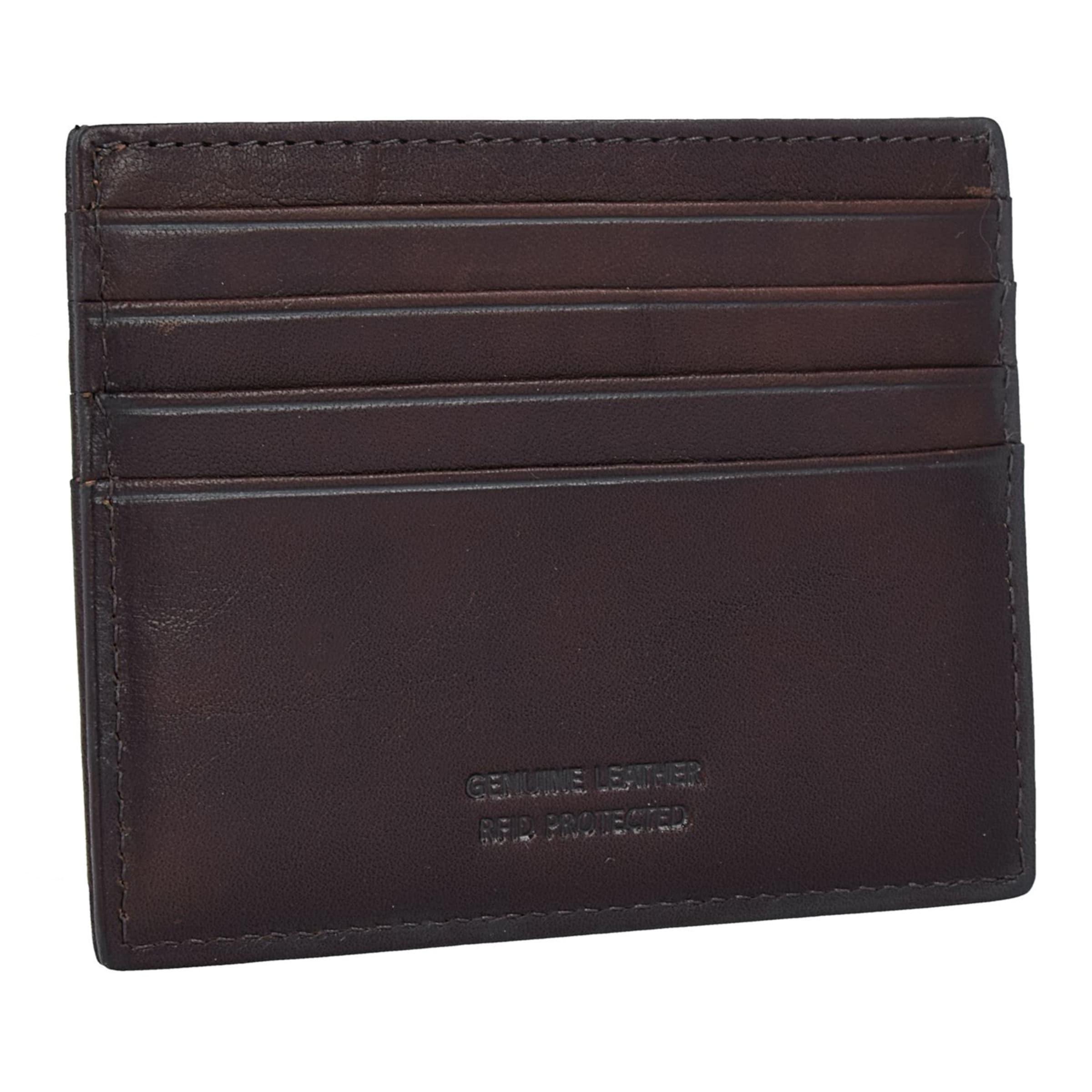 Bric's Monte Rosa Kreditkartenetui RFID Leder 10 cm Billig Zuverlässig Online-Shopping Online-Verkauf Neue Online 9n40nBGnh