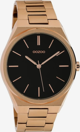 OOZOO Uhr 'C10338' in rosegold / schwarz, Produktansicht