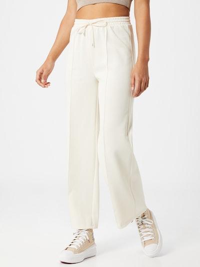 Pantaloni ONLY pe ecru, Vizualizare model
