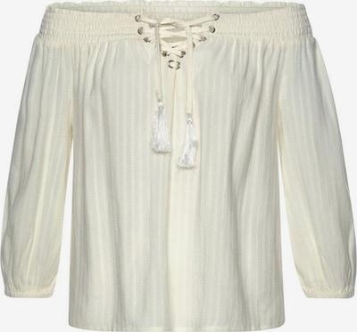 LASCANA Bluzka w kolorze beżowym, Podgląd produktu
