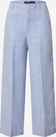 POLO RALPH LAUREN Pantalon à plis en bleu clair, Vue avec produit