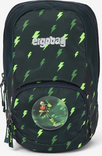 ergobag Kinderrucksack in grün / tanne / hellgrün, Produktansicht