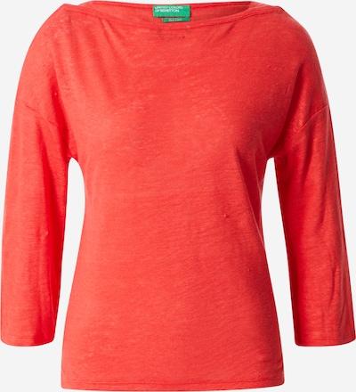 UNITED COLORS OF BENETTON Shirt in orangerot, Produktansicht