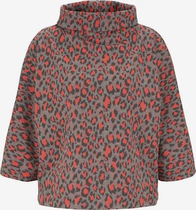 TOM TAILOR Sweatshirt in orangerot, Produktansicht