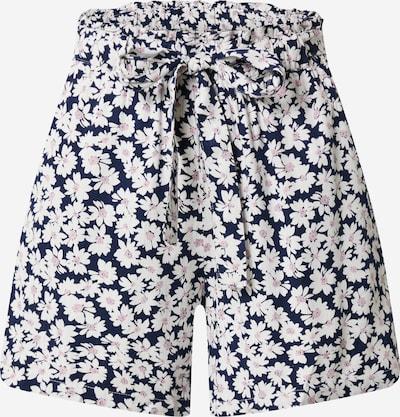 PIECES Pantalon en bleu / rose ancienne / blanc, Vue avec produit