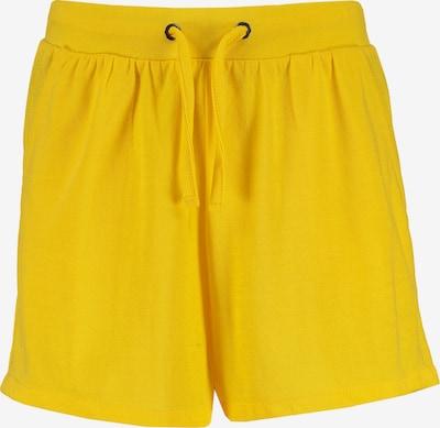 BLUE SEVEN Jerseyshorts in gelb, Produktansicht