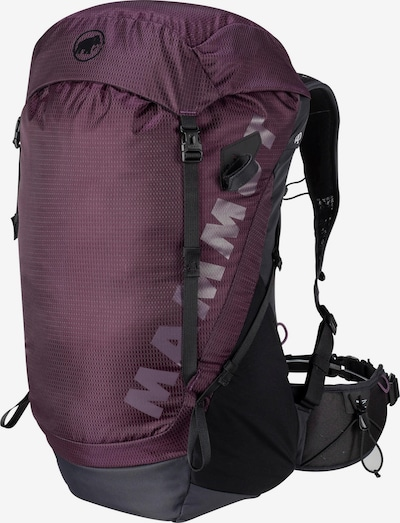 MAMMUT Sports Backpack 'Ducan 24 Women' in Aubergine / Black, Item view
