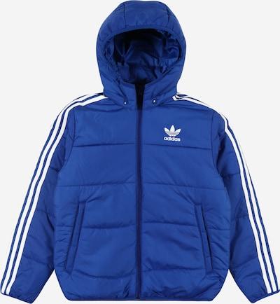 ADIDAS ORIGINALS Prehodna jakna | modra / bela barva, Prikaz izdelka