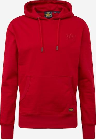 Superdry Sweatshirt  'DENIM GOODS CO HOOD' in rot, Produktansicht