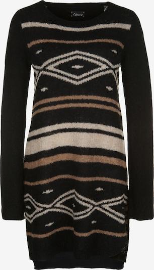 Grace Strickkleid 'MOUSSE' in hellbeige / schwarz, Produktansicht
