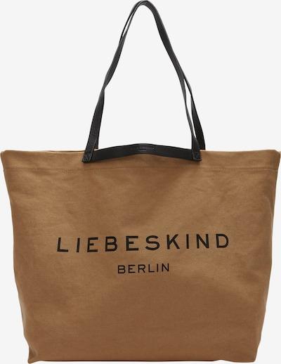 Liebeskind Berlin Shopper aus Canvas in hellbraun, Produktansicht