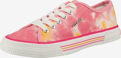 TOM TAILOR Sneaker in orange / hellpink / weiß, Produktansicht