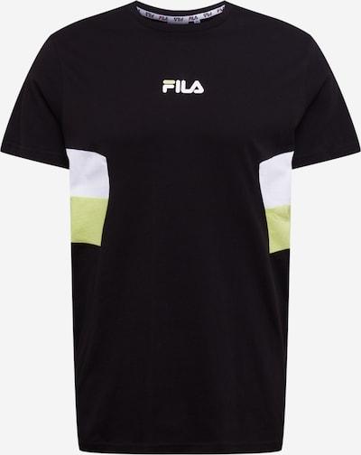 FILA Shirt 'Barry' in schwarz / weiß, Produktansicht
