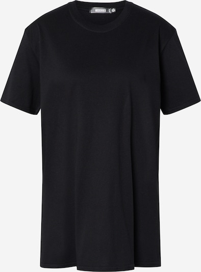 Missguided T-Shirt 'Paradox Back Print' in schwarz, Produktansicht
