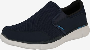 SKECHERS Спортни обувки Slip On 'EQUALIZER - PERSISTENT' в синьо
